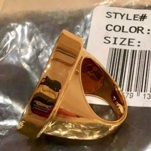 Trina Turk Jewelry - Trina Turk Super T Statement Ring-Sz 7-NEW